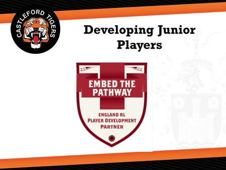 Developing Junior Players. Community Club Coaching Resource Progressive Long Term Player Development Framework that aims to support community club coaches.