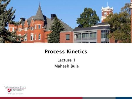 Process Kinetics Lecture 1 Mahesh Bule. Introduction to Processes in Biofuel Heterotrophic and phototrophic pathway for biofuel production.