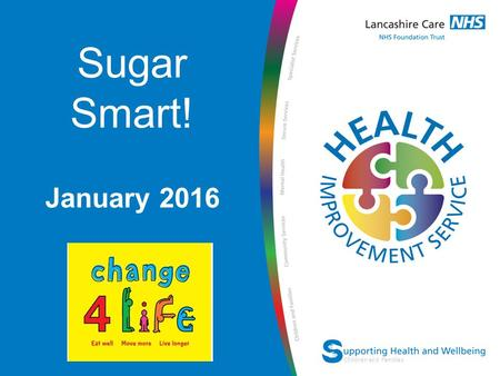 Network Name Children and Families Sugar Smart! January 2016.