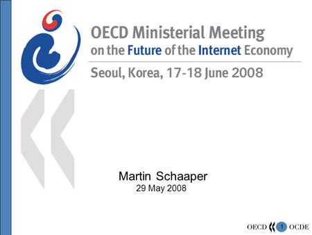 1 Martin Schaaper 29 May 2008. 2 What are the Major themes ?  Achieving Economic ( growth, innovation, productivity, jobs / skills, globalisation) and.