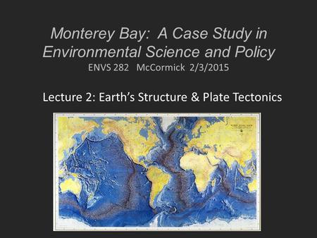 monterey case study