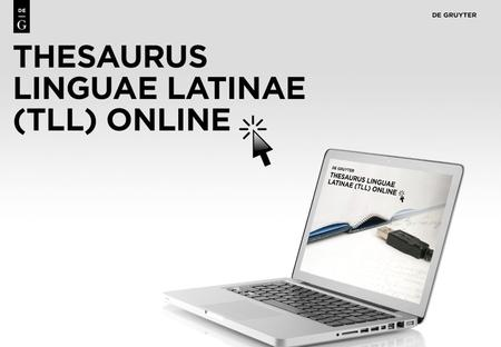 1. 2 Content Thesaurus Linguae Latinae is the largest and most detailed Latin dictionary in the world: Ranges from the classical period up to around 600.