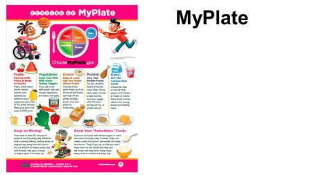 MyPlate. Essential Question: What does the word nutrients mean?