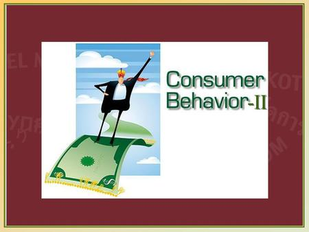13-1 -II. 13-2 Four Types of Buying Behavior High Involvement Low Involvement Significant Differences between Brands Complex buying behavior Variety-seeking.