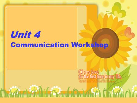Unit 4 Communication Workshop. Brainstorm: Seasons and Weather Summer Spring Winter Autumn hot snowy cold dry cool windy warm rainy.