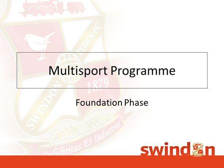 Multisport Programme Foundation Phase. What Sports will be covered 15.16 season? Tennis Fun Based Physical Session Martial Arts Boxing Futsal.