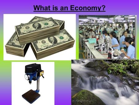 What is an Economy?. Economics is the study of how individuals and governments use scarce resources to produce and buy the goods they want/need. Scarcity.