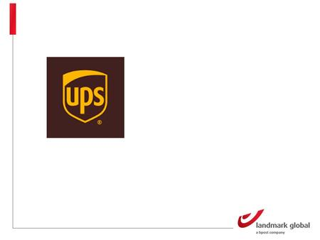 UPS United Parcel Service, typically abbreviated to UPS World's largest package delivery company and a provider of supply chain management solutions Headquarters.
