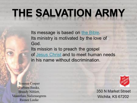 Its message is based on the Bible. Its ministry is motivated by the love of God. Its mission is to preach the gospel of Jesus Christ and to meet human.