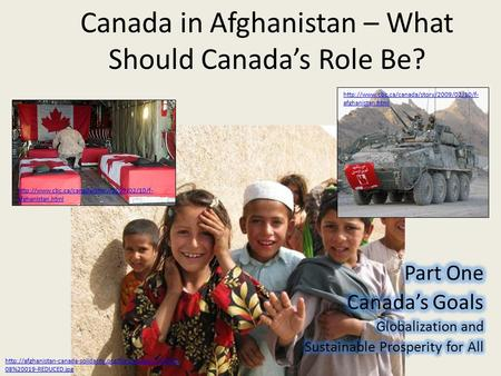 Canada in Afghanistan – What Should Canada's Role Be?  afghanistan.html