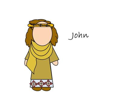 John. One of the original 12 Apostles A special witness to the acts and teachings of Jesus. His brother, James, and him were sons of Zebedee Like Peter,