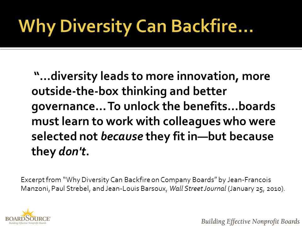  Assess culture & identify barriers to inclusion  Develop detailed plan of action  Commit to diversity and inclusion as an ongoing initiative  Implement policies and procedures