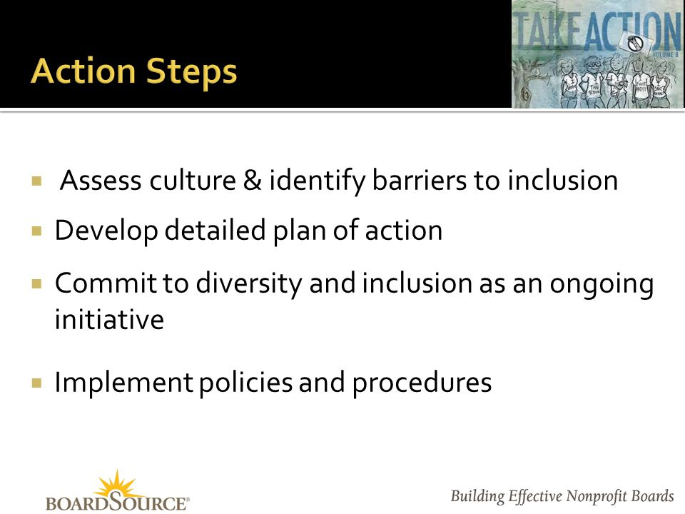  Board Chair and Chief Executive  As partners in leadership  Governance Committee  As conscience of the board  The Board Collectively  As teammates with shared purpose, authority, and accountability