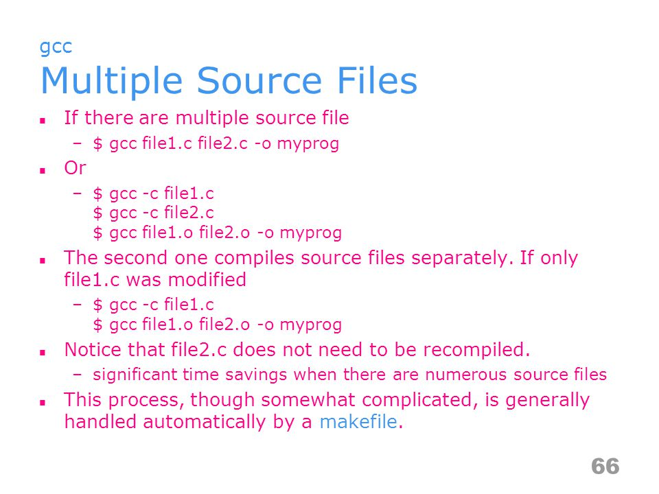 But how do you know which files should be re-compiled.