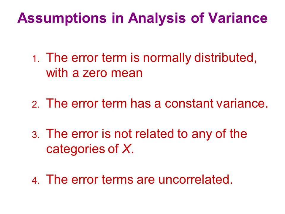 N-Way Analysis of Variance In marketing research, one is often concerned with the effect of more than one factor simultaneously.