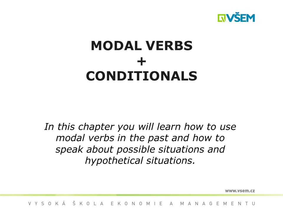 MODAL VERBS IN THE PAST modal verb + have + PP Ex.