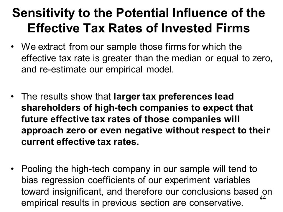 CONCLUSIONS We find that there are significant market reactions during the enactment week of the integrated tax system, this indicates that taxes are relevant to firm valuations.