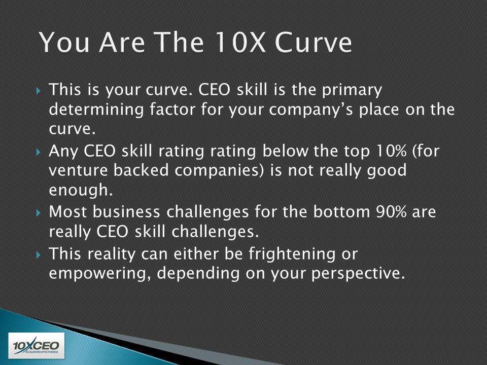  CEO effectiveness is largely predicted by six individual skills: three personal skills and three business skills.