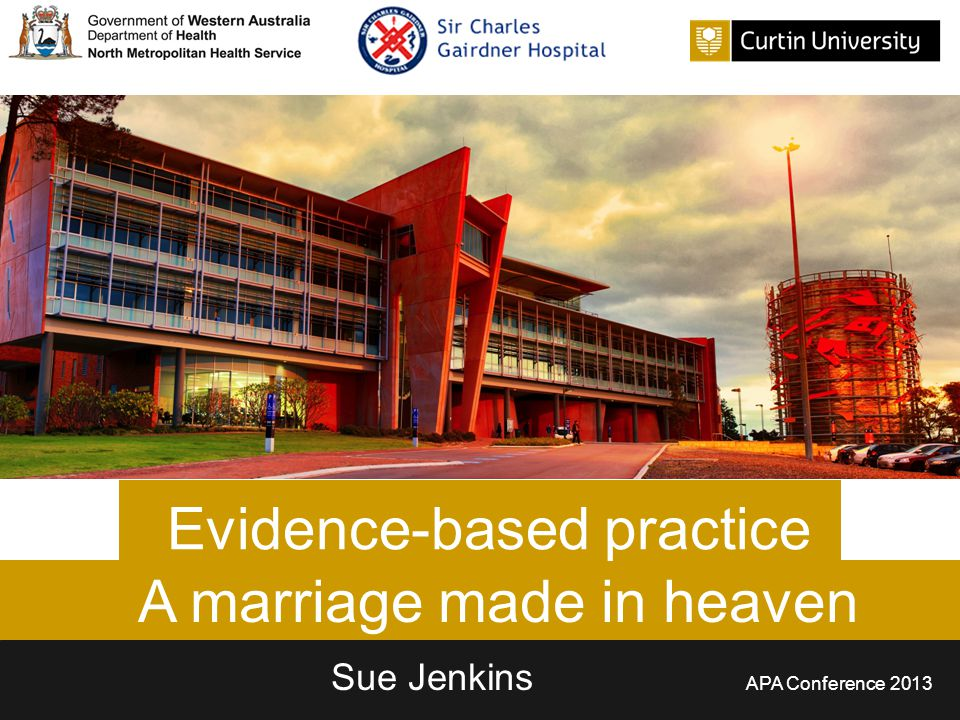 Outline  EBP  What it is, what it isn't and why do we need it.