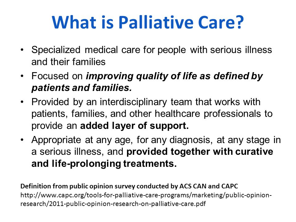 Conceptual Shift for Palliative Care Medicare Hospice Benefit Life Prolonging Care Not this Palliative Care Bereavement Hospice Care Life Prolonging Care But this DxDeath 19