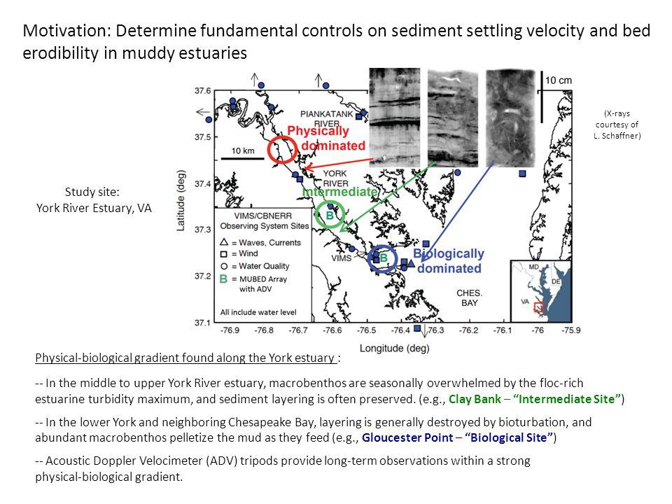 ADV at deployment -- ADVs often provide quality long-term data sets despite extensive biofouling.