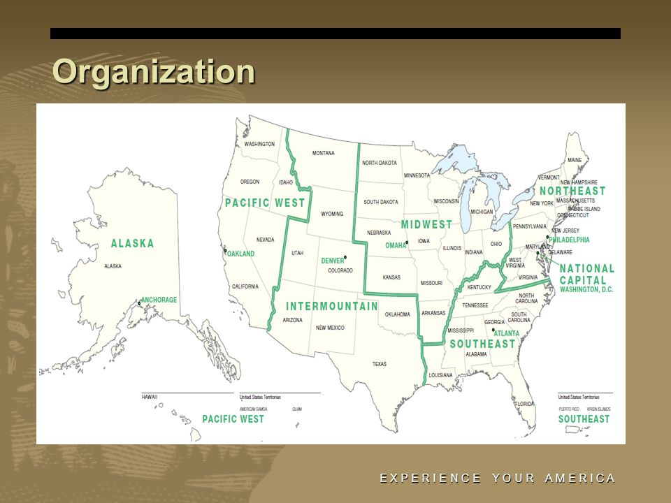 NPS Acquisition Program $300 - $400 million under contract annually $300 - $400 million under contract annually 80% of contracts awarded to small business 80% of contracts awarded to small business Majority…Construction Majority…Construction Remainder…IT, Maintenance Services, Professional Services, A/E, Heavy Equipment Remainder…IT, Maintenance Services, Professional Services, A/E, Heavy Equipment E X P E R I E N C E Y O U R A M E R I C A
