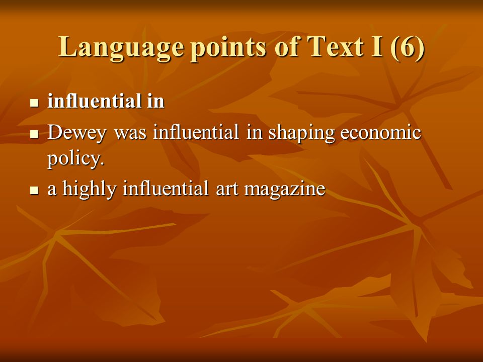 Language points of Text I (7) 7.voracious consumption : the state of using in large amounts 7.