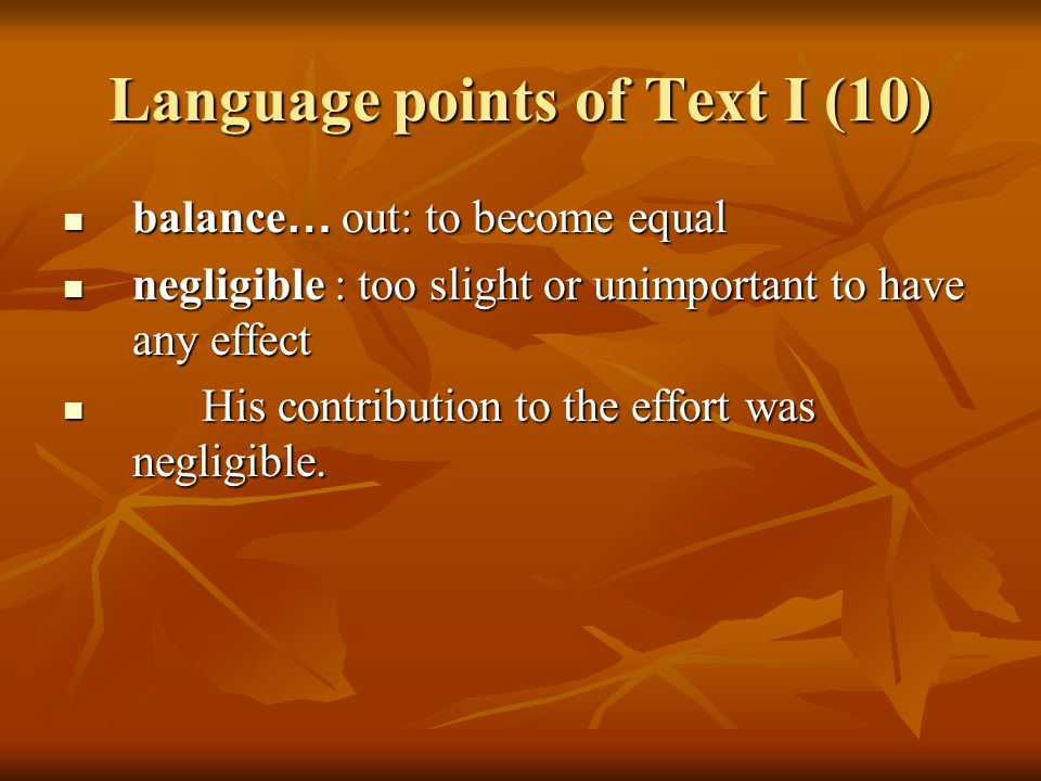 Language points of Text I (11) 14.stereotype: [countable] 14.