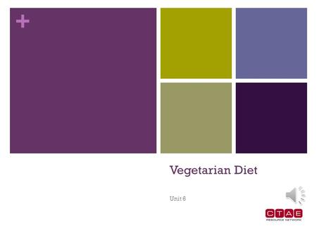 + Vegetarian Diet Unit 6 + Flexitarian/Semi-Vegetarian Individuals eat a mostly vegetarian diet. The individual may have decided to give up red meat.