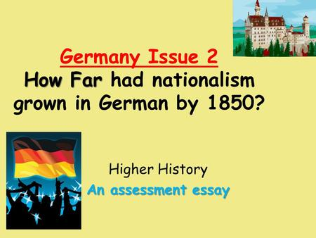 german nationalism essay