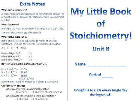 Ch Stoichiometry NG  HG NhG  Ppt Video Online Download