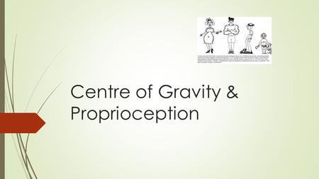 Centre of Gravity & Proprioception