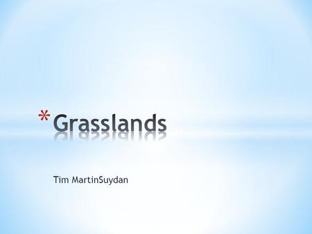 Tim MartinSuydan. * Temperature- temperatures vary based on the location of the grassland. For example, tropical grasslands have high temps year round.