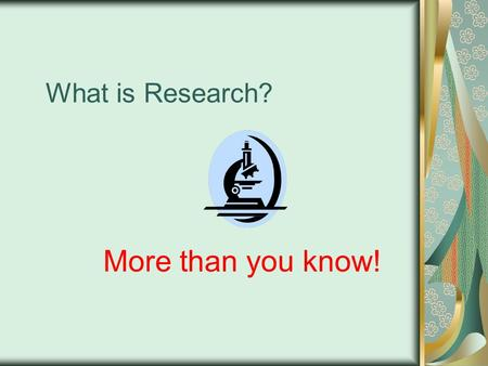 What is Research? More than you know!. EPCC's IRB needs your attention The Institution Review Board is charged with insuring that ALL research done at/by.