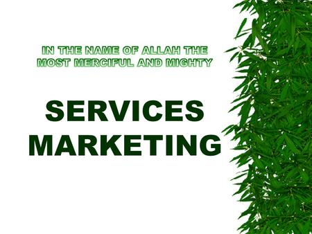Consumer Expectations of SERVICES CHAPTER 4 Meaning and Types of Services Expectations  Services expectations beliefs about services delivery that serve.