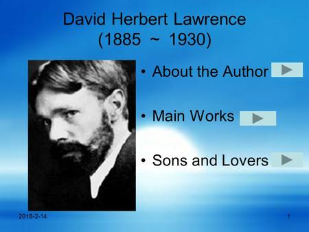 an analysis of sons and lovers by d h lawrence Sons and lovers csaword audiobook read by robert powell this is the first csa word classic the story of a young man growing up in a closed mining community with a domineering mother others.