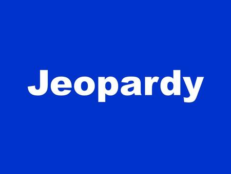 Jeopardy. 100 200 300 400 500 Fats Carbs Proteins Vitamins Minerals Toxicities & Defiencies Jeopardy.