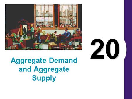 20 Aggregate Demand and Aggregate Supply. Short-Run Economic Fluctuations Economic activity fluctuates from year to year. In most years production of.