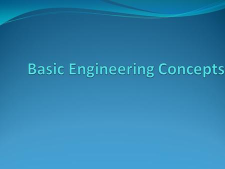 Scope of the presentation Scope of this presentation is to learn below engineering concepts : Scalar Vector.