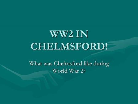 WW2 IN CHELMSFORD! What was Chelmsford like during World War 2?