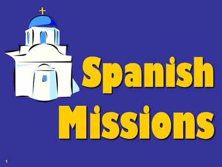 1 Spanish Missions. 2 SPANISH CONTROL OF THE TEXAS BORDERLANDS To control the Texas borderlands the Spanish built 4 types of settlements: 1.missions –