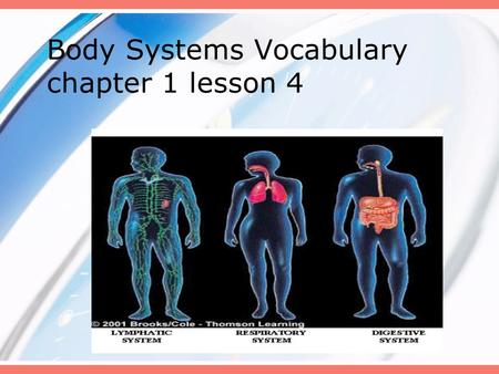Body Systems Vocabulary chapter 1 lesson 4. Words to Know organ organ system arteries veins capillaries smooth muscle smooth muscle cardiac muscle cardiac.