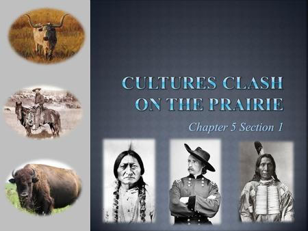Chapter 5 Section 1.  Many tribes had established themselves on the Great Plains before settlers moved westward Osage & Iowa were farmers/planters Sioux.
