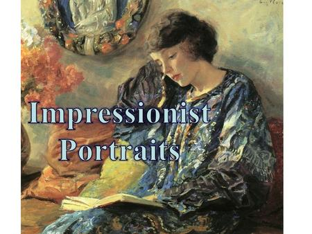 How did it happen? In the 1870's, painters began painting in the Impressionist style as a reaction against the strict style of the Realists. Impressionist.