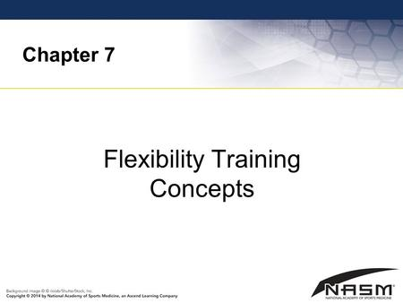 Flexibility Training Concepts