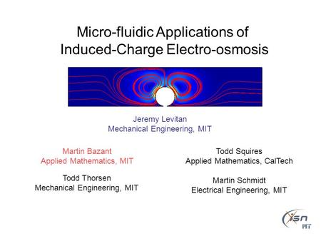 Micro-fluidic Applications of Induced-Charge Electro-osmosis