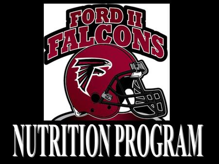 OFF-SEASON NUTRITION PROGRAM Disciplined Nutrition –Training is only 50% –We must follow a disciplined eating routine if we want maximum results. –This.
