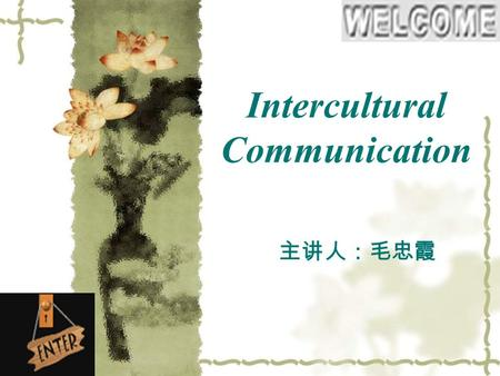 Unit one introduction into communication in