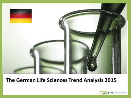 The German Life Sciences Trend Analysis 2015. About Us The following statistical information has been obtained from Biotechgate. Biotechgate is a global,