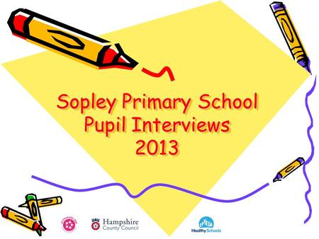 Sopley Primary School Pupil Interviews 2013. Contents Pupil Interviews Key Points.